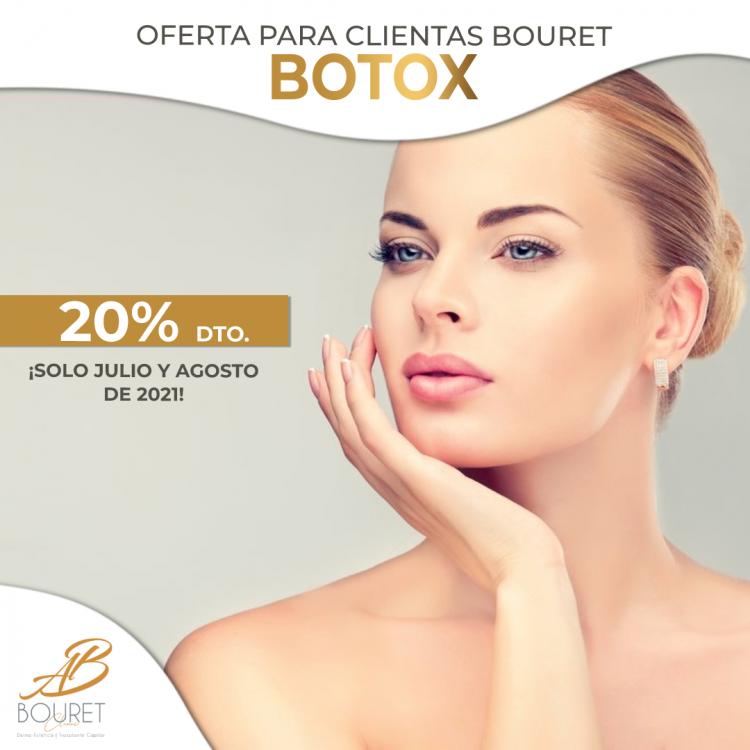 BOTOX julio agosto 2021 promoción 20%