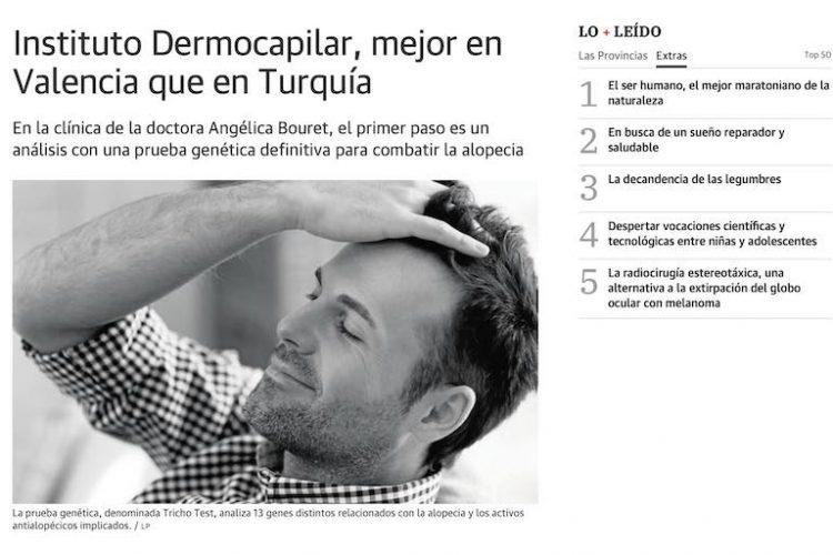 Instituto Dermocapilar, mejor en Valencia que en Turquía